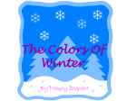 The Colors Of Winter - Bulletin Boards for the Music Classroom