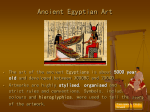 Ancient Egyptian Art - Terrigal High School