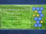PowerPoint Presentation - Introduction to Facing the Lion