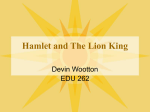 ppt: Lion King and Hamlet