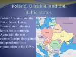 Poland, Ukraine, and the Baltic states