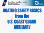 Boating Safety - United States Coast Guard