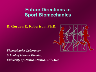 Future Directions in Sport Biomechanics