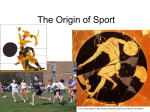 Theory and Origin of Sport