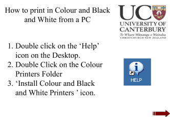Print in colour from Mac to IT colour printer