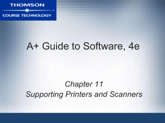 A+ Guide to Software, 4e - c
