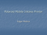 Polaroid Mobile Inkless Printer