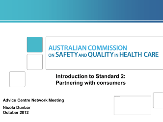 Australian Commission on Safety and Quality in Health Care
