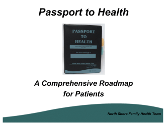 Passport to Health - North Shore Family Health Team