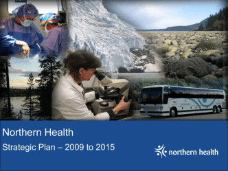 We will - Northern Health