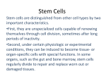 Stem Cells - Franklin College