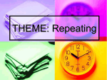 THEME: Repeating