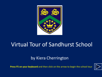 Virtual Tour For Sandhurst School