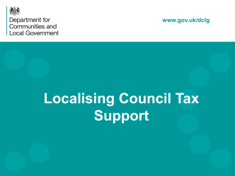 Localisation of Council Tax Support