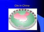 Gis in China
