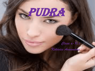 Pudra - cosmeticaXIi
