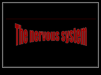 The Nervous System - OCPS TeacherPress