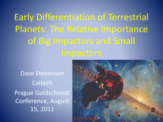 Early Differentiation of Terrestrial Planets: The Relative Importance