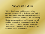 Nationalistic Music