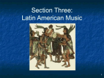 Chapter 8: Latin American Music