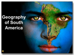 Geography of South America