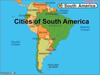 Cities of South America - Michigan State University
