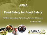 ANIMAL HEALTH ACT 36 – FERTILZER, ANIMAL FEEDS OUTLINE