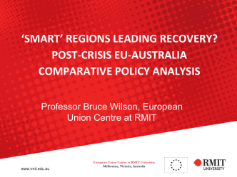 Post-crisis EU-Australia comparative policy analysis