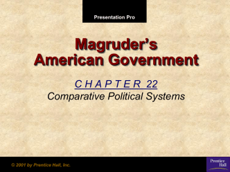 Chapter 22 Government