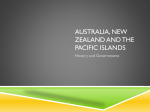 Australia, New Zealand and the Pacific Islands