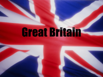 Map of Great Britain Great Britain is part of Europe Great Britain Flag