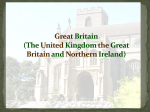 The Great Britain (The United Kingdom the Great Britain and