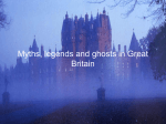 Myths, legends and ghosts in Great Britain