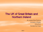 The UK of Great Britain and Northern Ireland