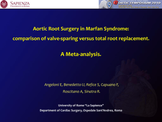 Aortic Root Surgery in Marfan Syndrome