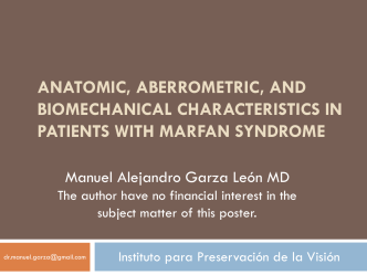 Anatomic, Aberrometric, and Biomechanical Characteristics in