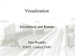 Visualization Investment and Return