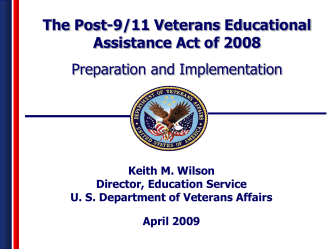 Post-9/11 Veterans Educational Assistance Act of 2008