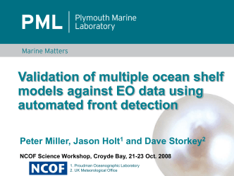 Validation of multiple ocean shelf models against EO data