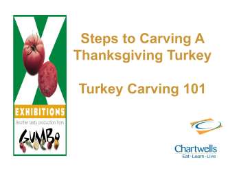 Turkey Carving 101