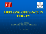 LIFELONG GUIDANCE IN TURKEY