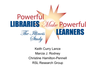 Power Point Presentation - Illinois School Library Media Association