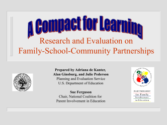 Building and Strengthening Partnerships for Family Involvement in