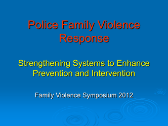 Download PPT (2025 KB) - New Zealand Family Violence