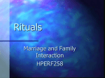 Family Beliefs, Rituals and Rules