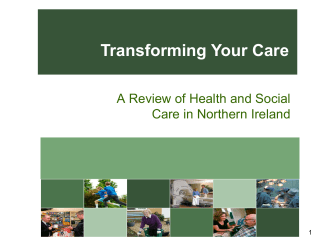 Transforming Your Care powerpoint presentation