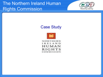 The Northern Ireland Human Rights Commission