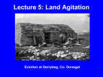 Lecture 5: Land Agitation