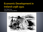 Economic Development in Ireland 1798-1921
