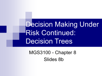 Chapter 10 - Decision Trees
